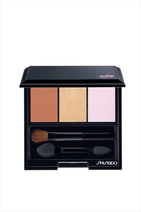 Shiseido 3'lü Göz Farı - Luminizing Satin Eye Color Trio BR214