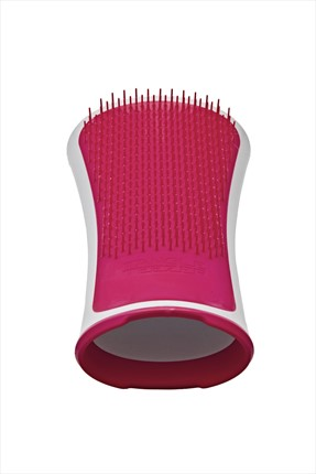 Tangle Teezer Saç Fırçası - Pink Teeth White Body - Pink Shrimp