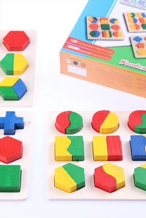 Learning Toys Geometrical Shape Building Block 2No43