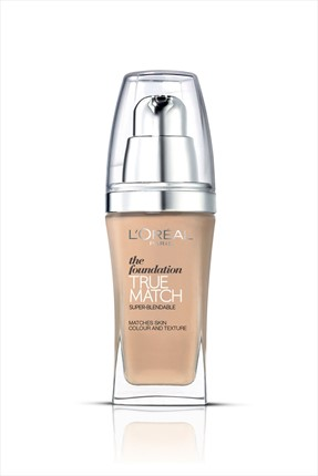 L'Oreal Paris Nemlendirme Etkili Fondöten - True Match Foundation W7 Golden Amber 30 mL