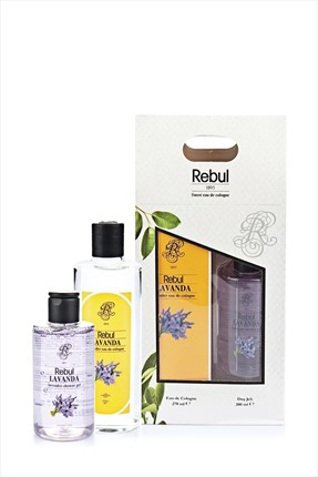 Rebul Lavanta Özlü Kolonya 270 ml + Duş Jeli 200 ml Set