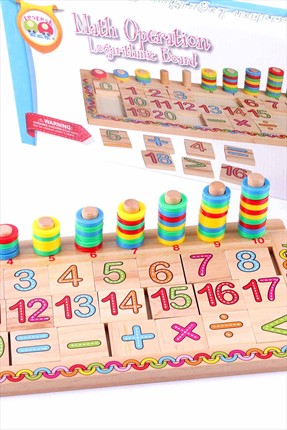 Toys Go Green Math Operation Logarithmic Board