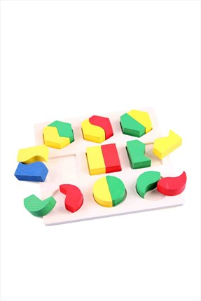 Toys Go Green Geometrical Shape Building Block 1No112-C