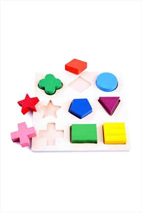 Toys Go Green Geometrical Shape Building Block