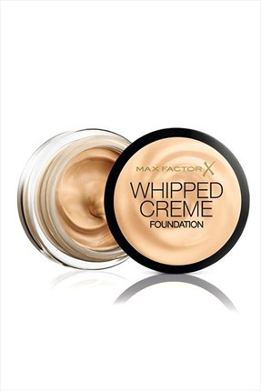 Max Factor Krem Fondöten - Whipped Creme 45 Warm Almond