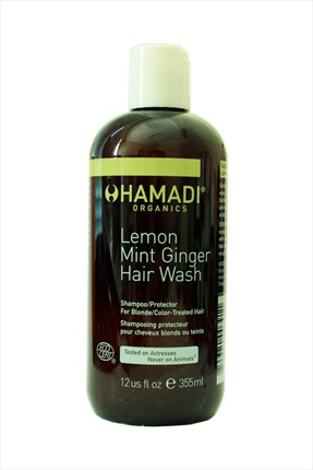 Hamadi Limon ve Nane Özlü Şampuan - Lemon Mint Ginger Hair Wash 355 mL