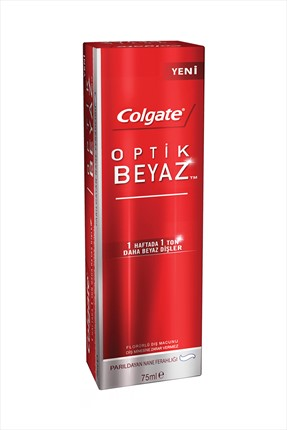 Colgate Optik Diş Macunu 75 mL