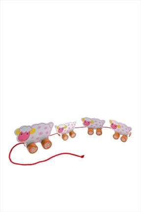 Toys Go Green 4Pcs Wooden Rolling Toys
