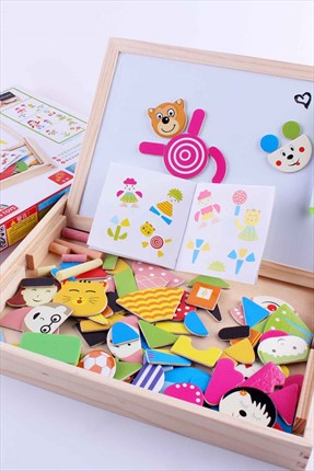 Magnetic Puzzle Dual Board Set