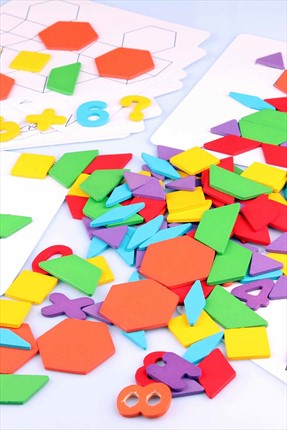 Learning Toys 140Pcs Intellectual Puzzle Blocks Flr-65