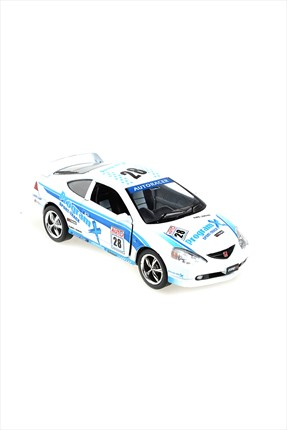 Toys Go Green Honda Integra TYPE-R Çek Bırak 1/34 Die Cast Model Araç