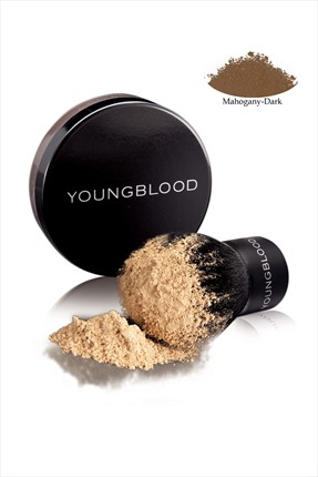 YOUNGBLOOD Oz Mineral Fondöten - Natural Loose Mineral Foundation Mahogany 10 Gr