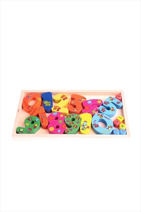 Toys Go Green Wooden Numeric Set