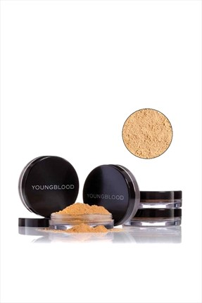 YOUNGBLOOD Toz Mineral Fondöten - Natural Loose Mineral Foundation Warm Beige 10 g
