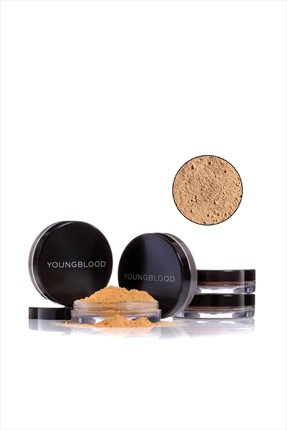YOUNGBLOOD Toz Mineral Fondöten - Natural Loose Mineral Foundation Toffee 10 Gr