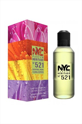 NYC Central Park Floral Edition No: 521 Edp 100 mL Kadın Parfümü
