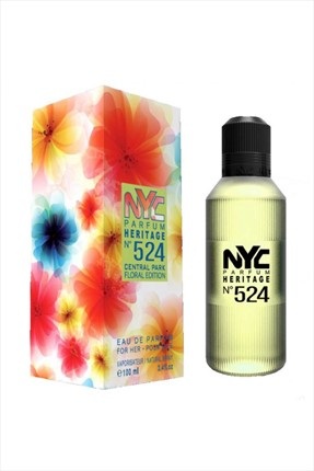 NYC Central Park Floral Edition No: 524 Edp 100 mL Kadın Parfümü
