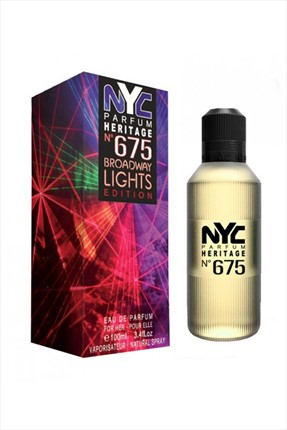 NYC Broadway Lights Edition No:675 Edp 100 mL Kadın Parfümü