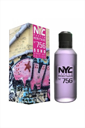 NYC Soho Street Art Edition No: 756 Edp 100 ml Kadın Parfümü