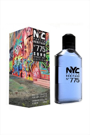 NYC Soho Street Art Edition No: 775 Edt 100 ml Erkek Parfümü