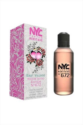 NYC East Vıllage Rock & Tattoo Edıtıon No: 672 Edt 100 mL Kadın Parfümü