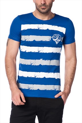 Superlife Erkek Saks T-Shirt SPR 367