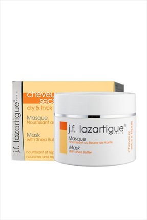 J.F Lazartigue Karite Yağı İçeren Maske - Dry & Thick Hair Mask 250 ml