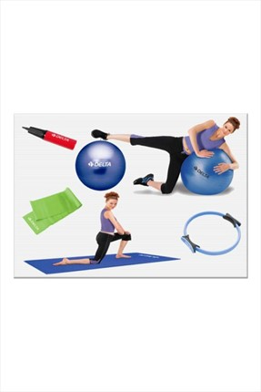 Delta Deluxe Pilates Full-Set - Dfp 702