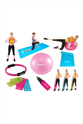 Delta Full-Kombinasyonlu Ultra-Deluxe Dura-Strong Pilates Seti - Pc 35