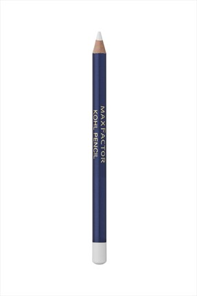 Max Factor Beyaz Göz Kalemi - Kohl Eye Liner Pencil 10 White