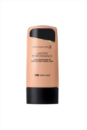 Max Factor Uzun Süre Kalıcı Sıvı Fondöten - Lasting Performance Foundation 108 Honey Beige