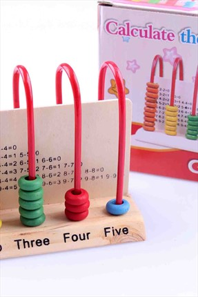 Learning Toys Wooden Calculate The Baby 4No-110