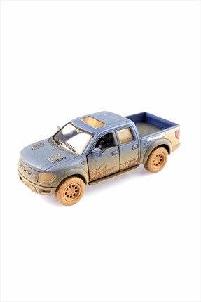 Kinsmart Off-Road 2013 Ford F-150 SVT Raptor SuperCrew Çek Bırak 1-46 Die Cast Model Araç