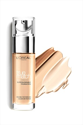 L'Oreal Paris Nemlendirme Etkili Fondöten - True Match Foundation 5R5C Sable