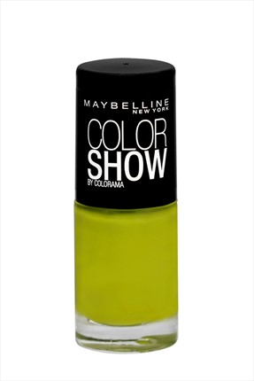 Oje - Color Show 754 Power Green Maybelline