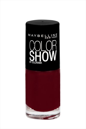 Maybelline Oje - Color Show 52 Downtown Red