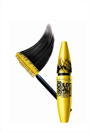 Maybelline Siyah Maskara - Colossal Smoky Volume Express Mascara