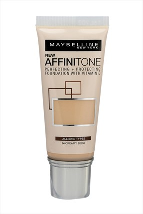 Maybelline New York Nemlendirme Etkili Fondöten - Affinitone Foundation 14 Creamy 30 ml