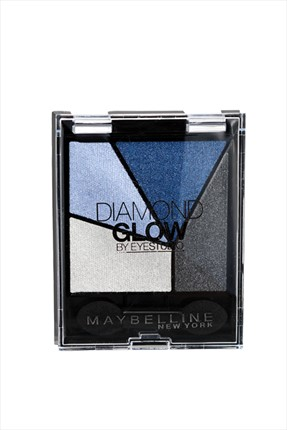 Maybelline 4'lü Far Paleti - Diamond Glow Quad 03 Blue Drama