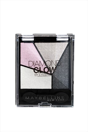 Maybelline 4'lü Far Paleti - Diamond Glow Quad 04 Gray Pink Drama