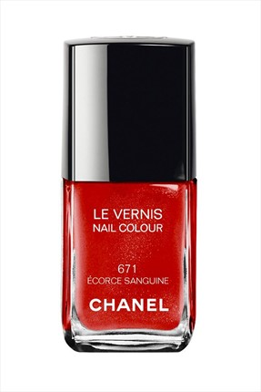 Chanel Oje - Le Vernis Rouge Longwear Nail Colour 671 Ecorce Sanguine