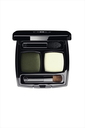 Chanel 2'li Far - Ombres Contraste Duo Eyeshadow 17 Khaki