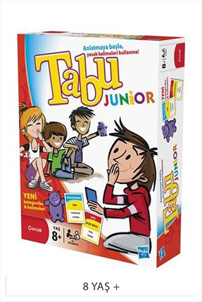 Hasbro Games Mb Games Tabu Junior