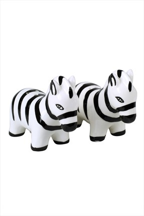 THANX CO Cute Zebras Tuzluk & Biberlik -61502