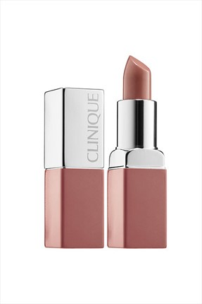 Clinique Ruj - Pop Lip Colour 04 Beige Pop