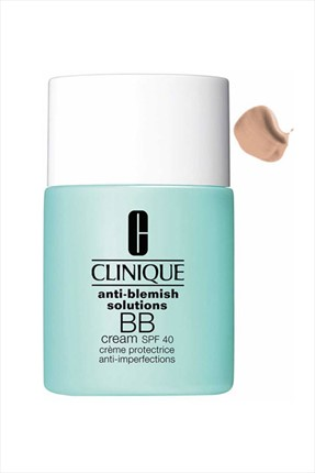 Clinique Akneli Ciltler için BB Krem - Anti Blemish Solutions BB Cream Spf 40 Light 30 mL