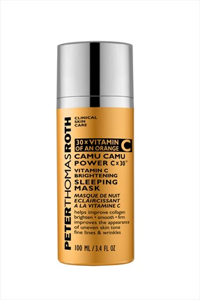 PETER THOMAS ROTH Canlandırıcı Yüz Maskesi - Camu Camu Power Cx30 Vitamin C Sleeping Mask 100 ml