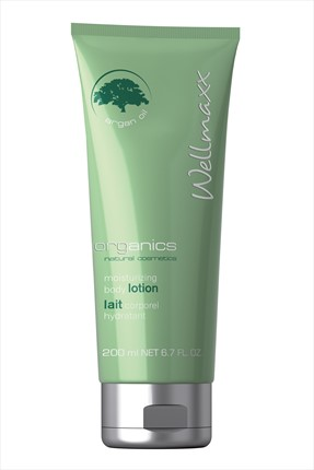 Wellmaxx Organik Vücut Losyonu - Organics Mosturizing Body Lotion 200 ml