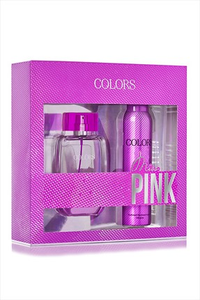 Rebul Colors Pinky Edt 75 ml + Deodorant Spray 150 ml Kadın Parfüm Seti