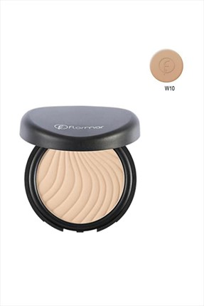 Flormar Pudra - Wet & Dry Compact Powder Apricot W10